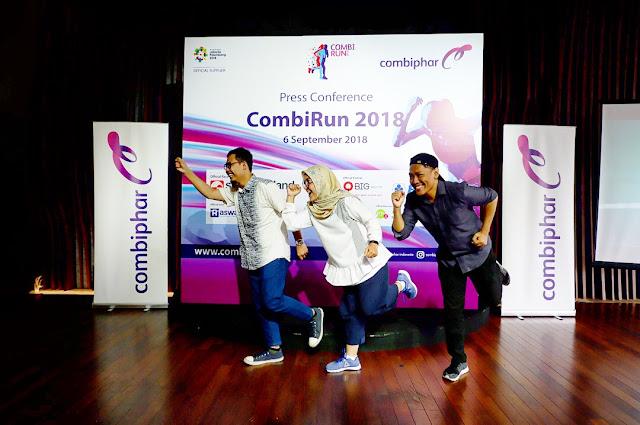ayo lari bersama combiphar combi run 2018