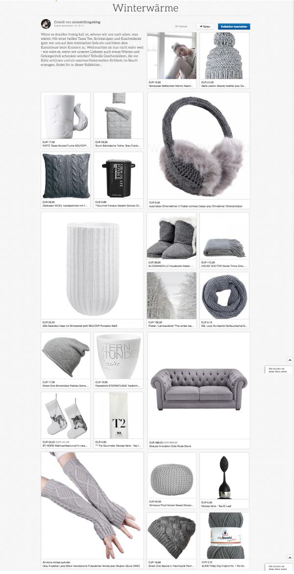 eBay Kollektion Blogger Winterwärme