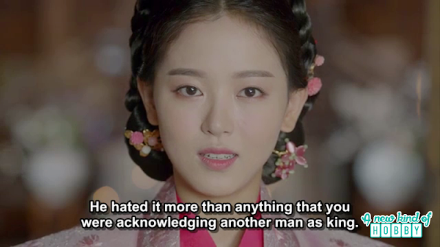 yeon hwa accuse hae soo for everything happening in the palace  - Moon Lovers Scarlet Heart Ryeo - Episode 19