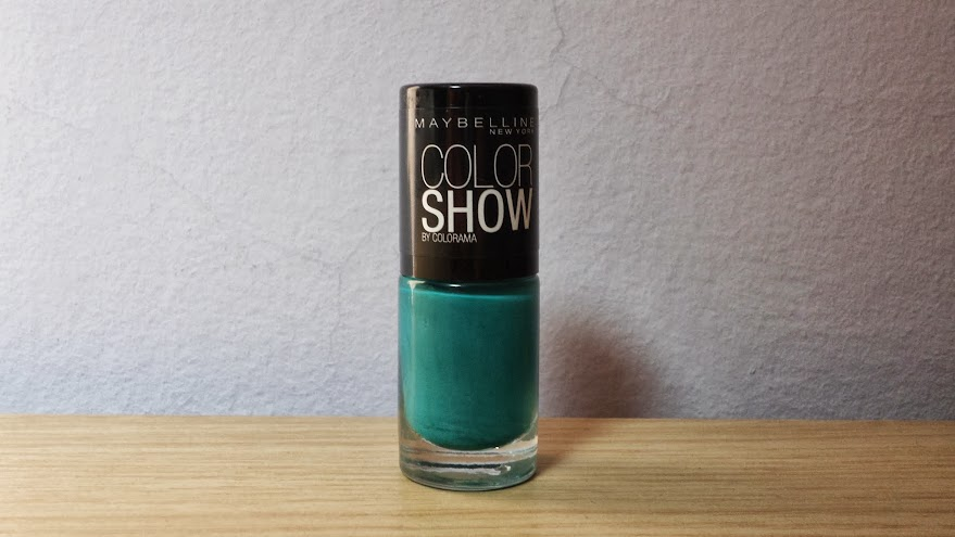 NOTD: Maybelline Color Show in Urban Turquoise