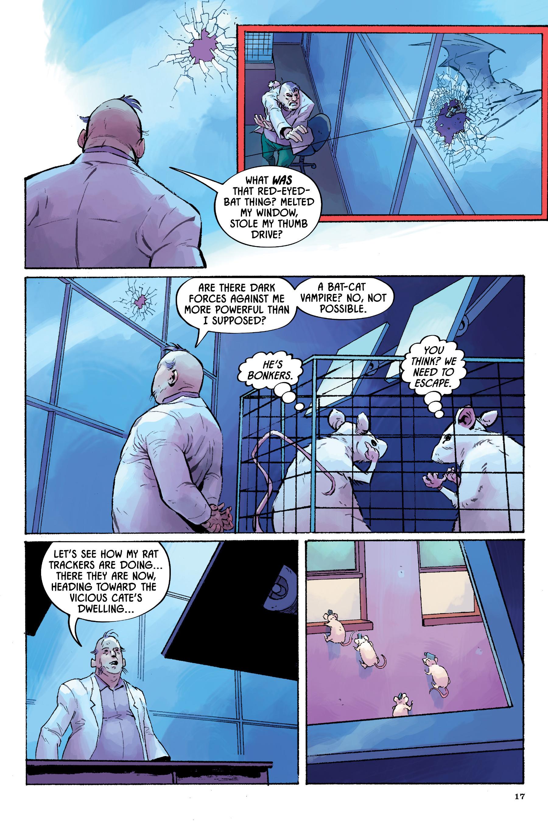 Read online Angel Catbird comic -  Issue # TPB 2 - 18