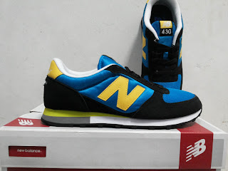 Sepatu New Balance Classics Traditionnels M430BG Blue Black Original