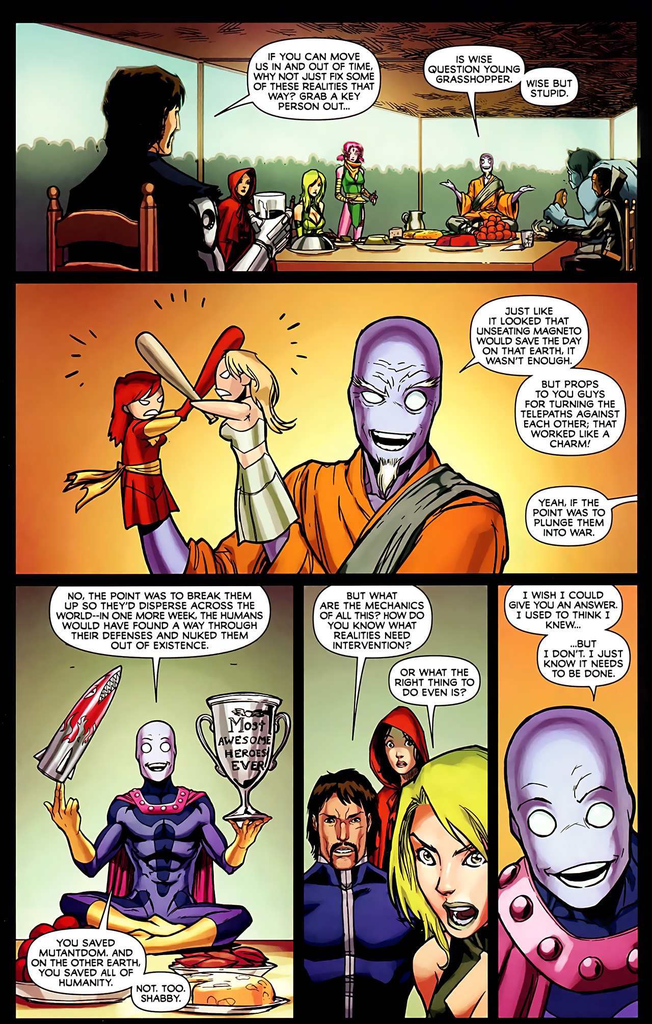 Read online Exiles (2009) comic -  Issue #6 - 14