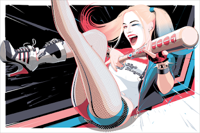 "Suicide Squad ""Harley"" Screen Print by Craig Drake x Hero Complex Gallery"