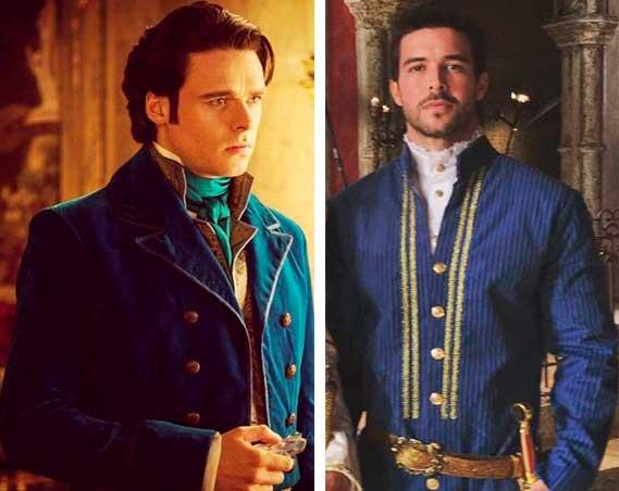 Príncipe Cinderela e ao lado Enrico