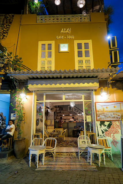Atay Cafe Food is the perfect place to unwind