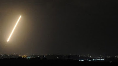 سقوط صاروخين - أرشيفية