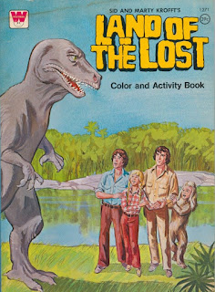 Land of the Lost coloring book