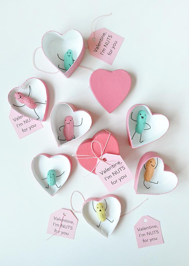 Peanut Valentines