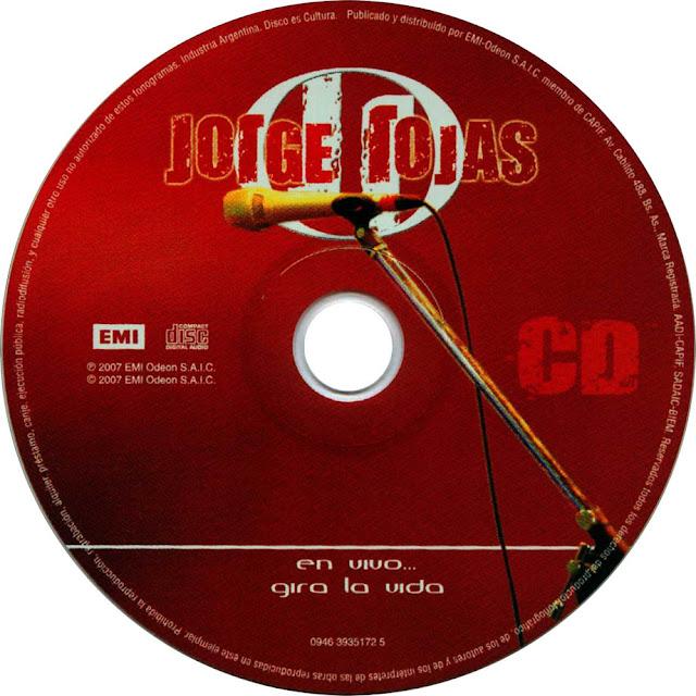 jrge rojas en vivo gira la vida descargar discografia