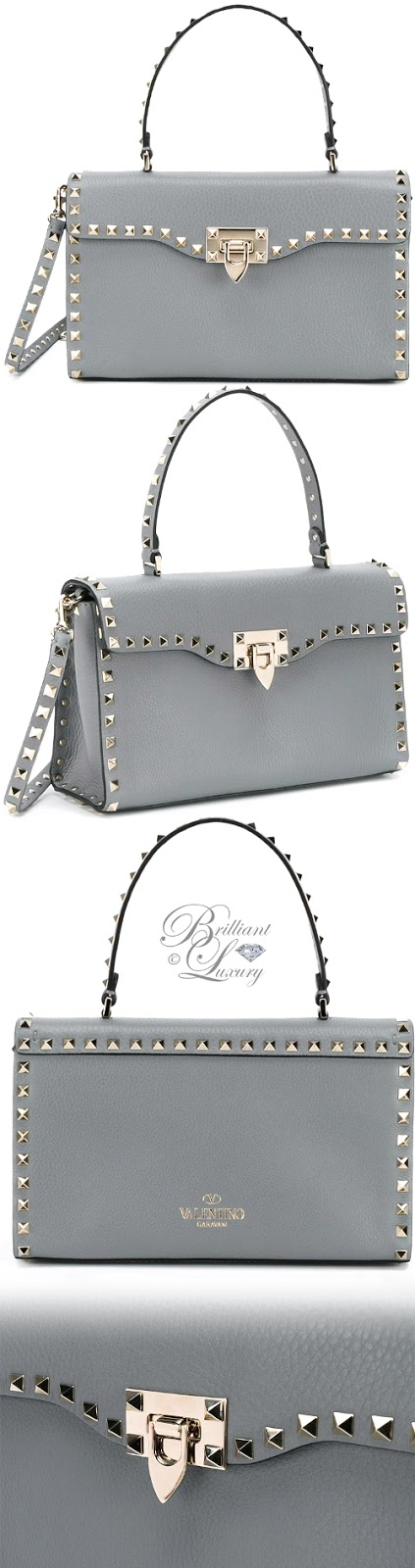 Brilliant Luxury ♦ Valentino Garavani Rockstud Shoulder Bag