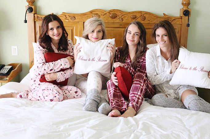 La Vie En Rose Winter Pajamas