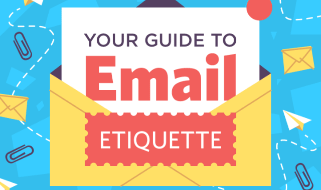 Email etiquette dating