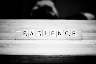 How do we develop patience, we don't, really... Thoughts at DTTB.