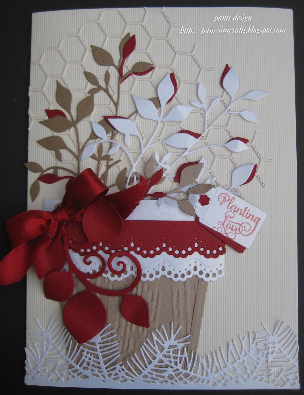 Heartfelt Creations Tutorial On Decorative Flower Pots