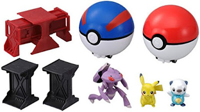 Takara Tomy Pokemon Monster Collection Moncolle Super Getter DX play set