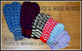 Fox and Geese Mittens