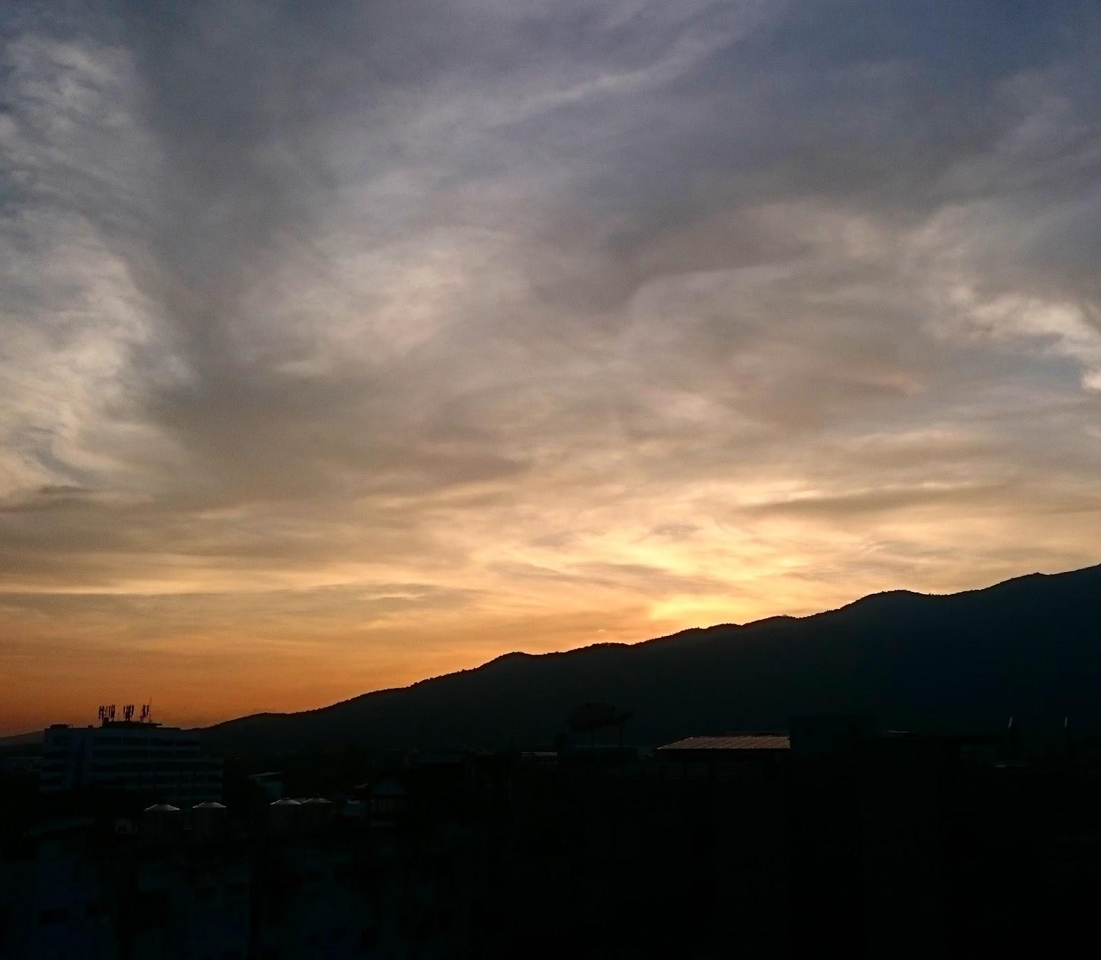 Doi Suthep Sunset   Chiang Mai