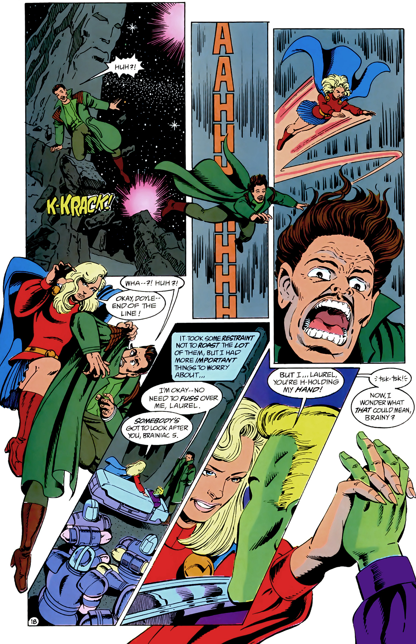 Legion of Super-Heroes (1989) 9 Page 18