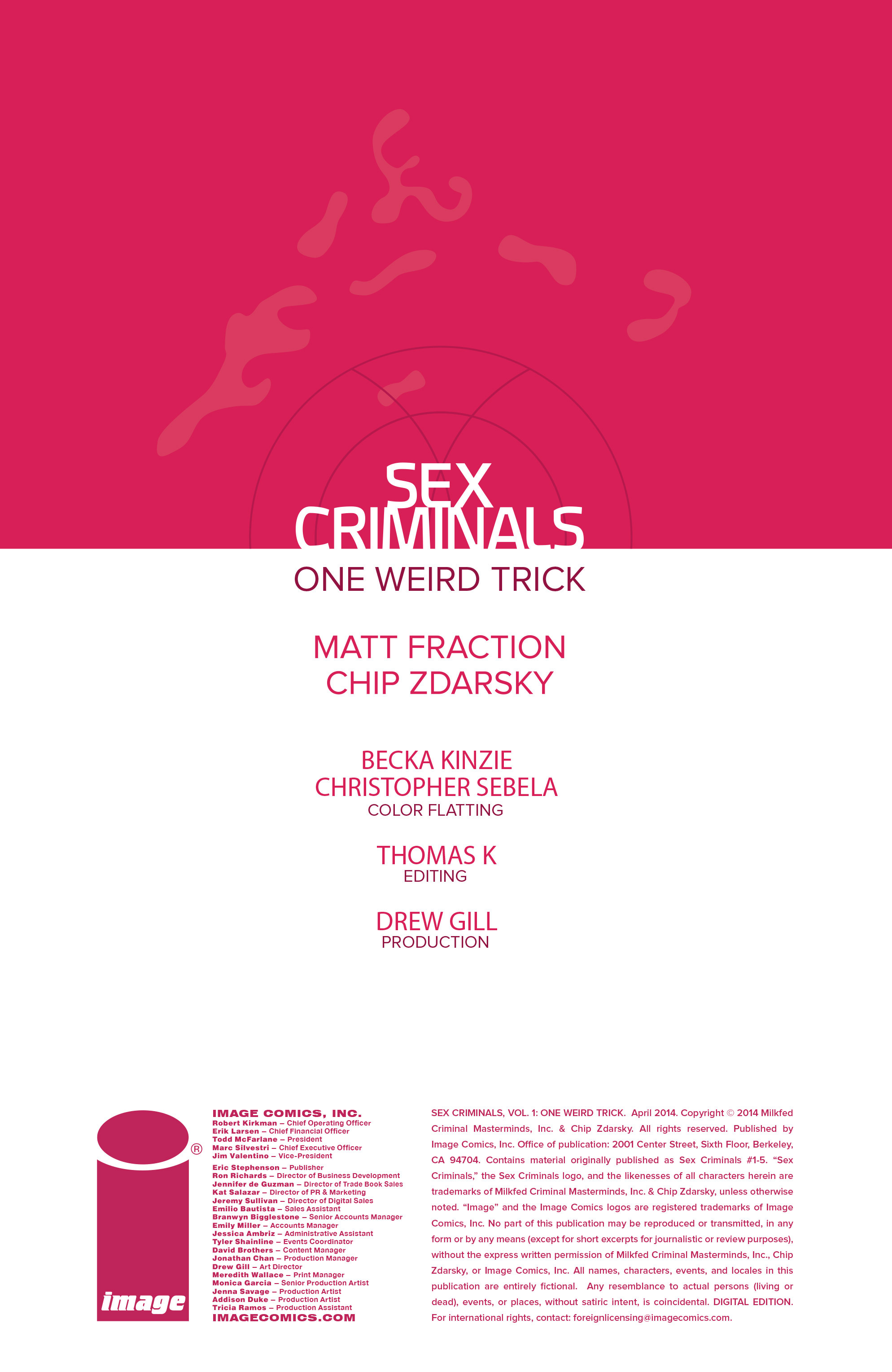 Read online Sex Criminals comic -  Issue # _TPB 1 - 3