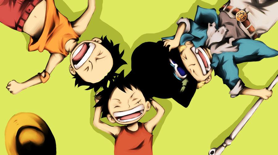 Ace Sabo Luffy Hd: Baboseiras Et. Al.: Anime, Apenas Para Crianças?
