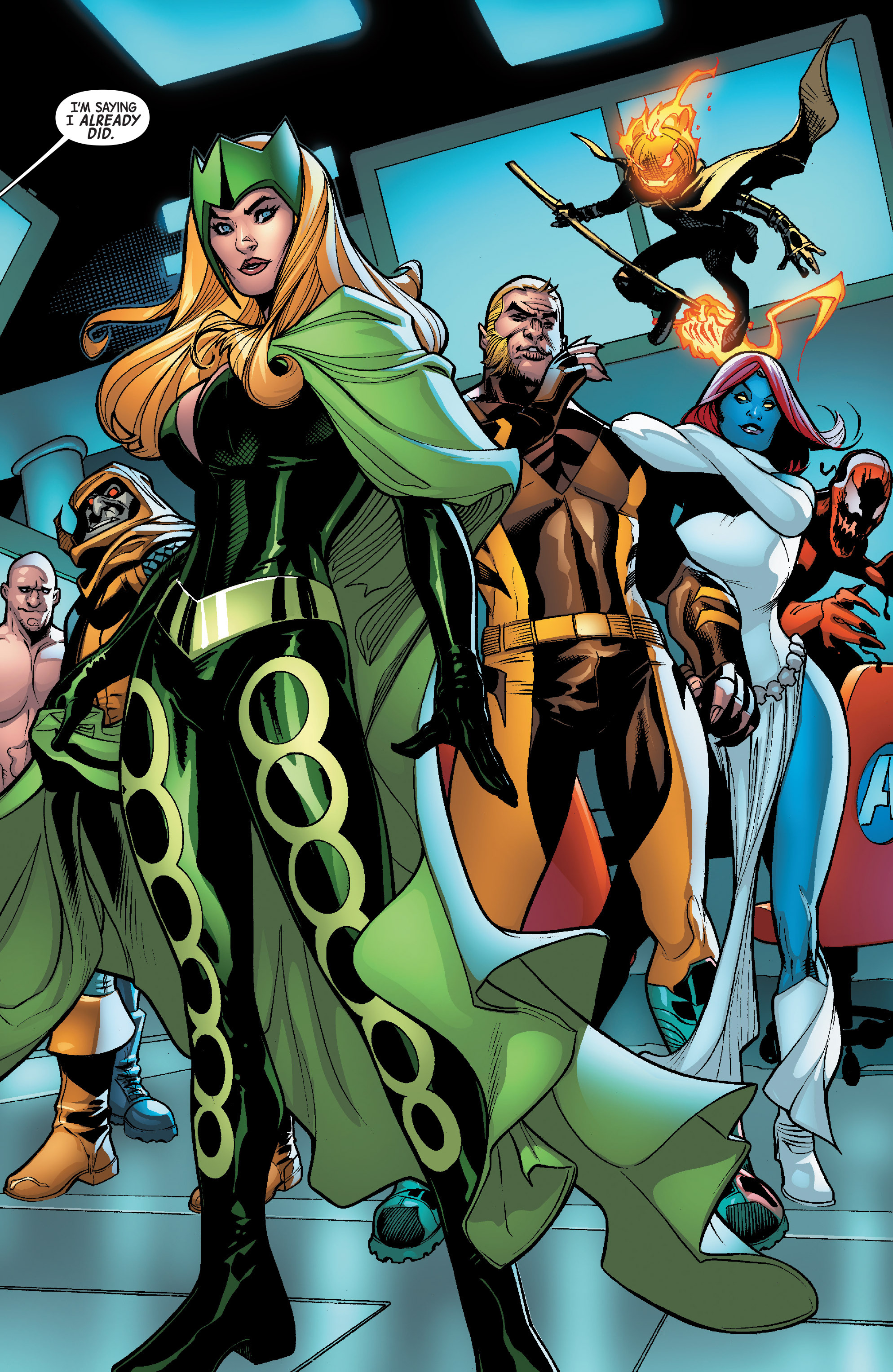 Read online Avengers & X-Men: AXIS comic -  Issue #6 - 24