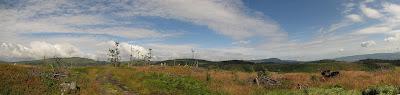 Panorama z Glinnego.