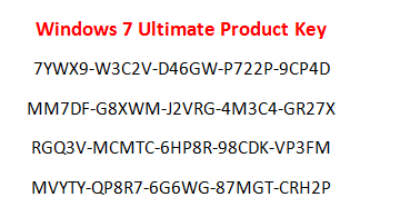 windows 7 ultimate 64 bit product key torrent