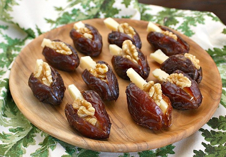 dates with walnuts parmesan
