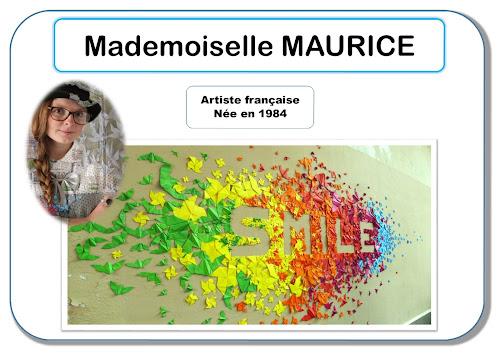 Mademoiselle Maurice - Portrait d'artiste en maternelle