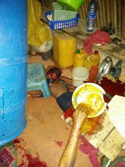 Shocking! Tragedy as Man Butchers Mother, Father and 3 Children (Warning: Graphic Photos)