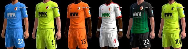PES 2013 Augsburg Kit Season 2016-2017