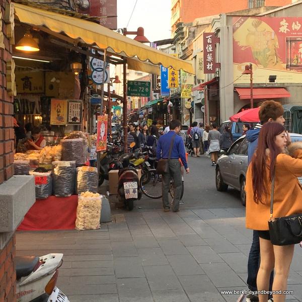 entrance to Dihua Street in Taipei, Taiwan