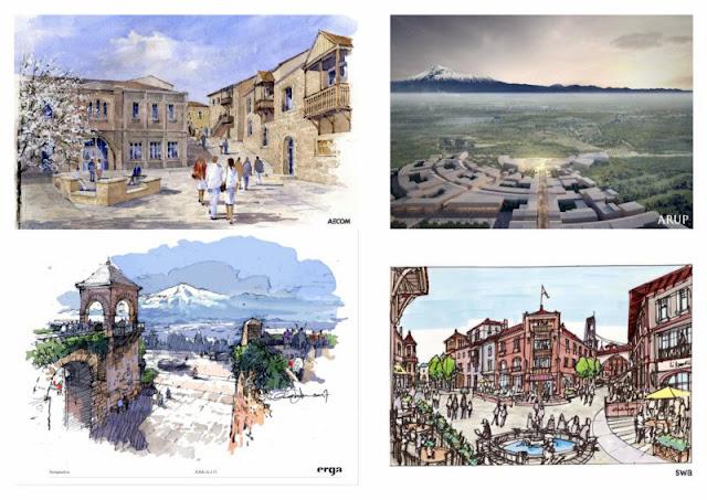 Presentan cuatro conceptos para el distrito etnográfico Noah