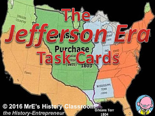 https://www.teacherspayteachers.com/Product/AMERICAN-HISTORY-The-Jefferson-Era-Task-Cards-2602766