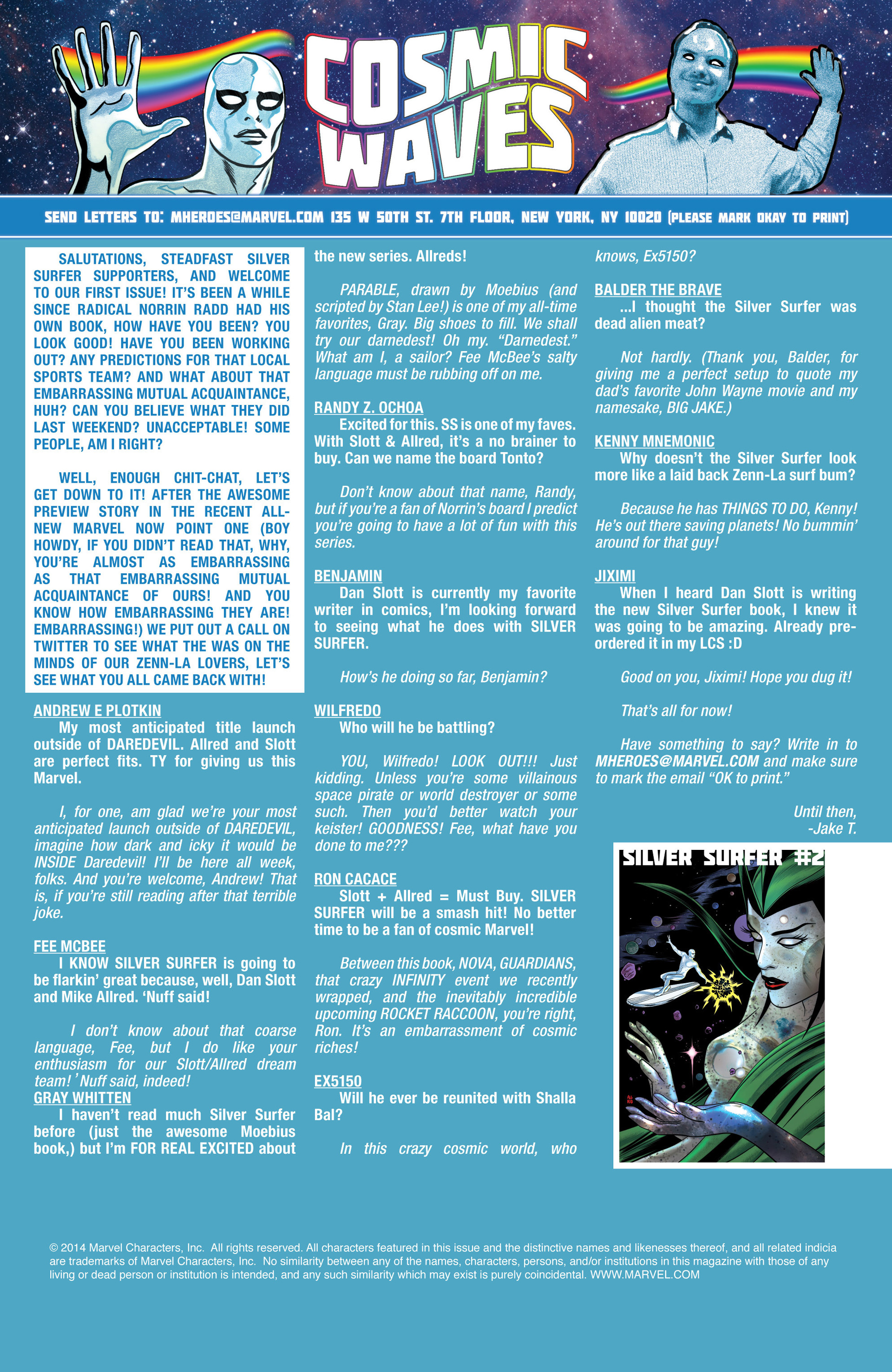 Read online Silver Surfer (2014) comic -  Issue #1 - 20