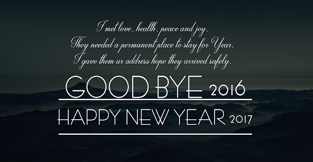 Goodbye 2016 Welcome Happy New Year 2017 Wallpapers