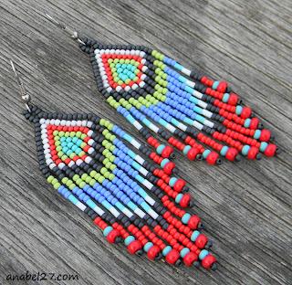 купить этнические украшения ручной работы из бисера россия интернет магазин герданы
