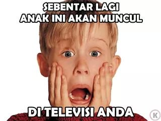 meme film home alone tentang Natal