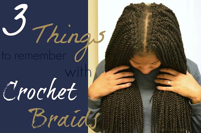 Advice for crochet braids