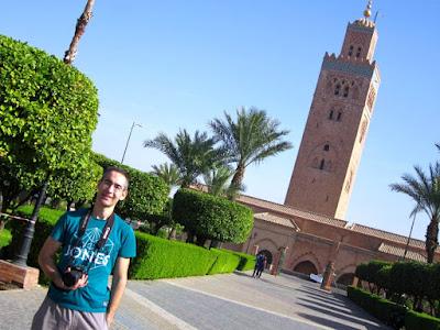 Minarete de la mezquita Koutoubia