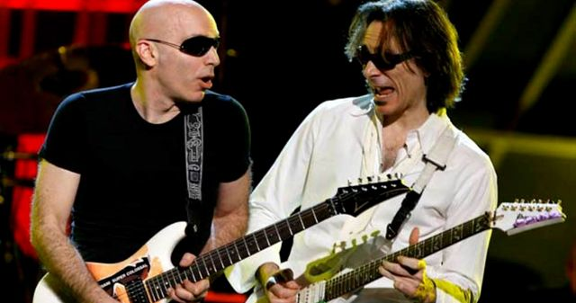 Joe Satriani y Steve Vai