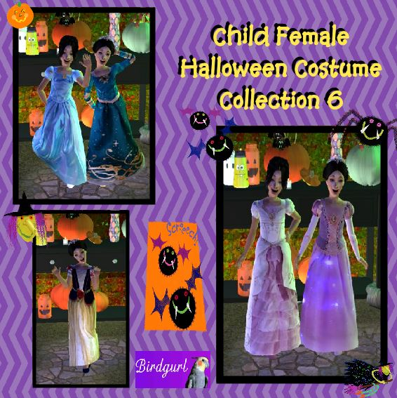 You will need the Family Fun Stuff pack for the mesh to work.  sc 1 st  Birdgurlu0027s Sims 2 Creations & Birdgurlu0027s Sims 2 Creations: Child Female Halloween Costume Collection 6