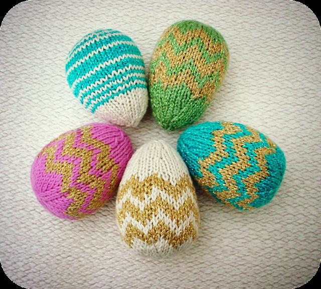 Zygzakiem po jajkach :)