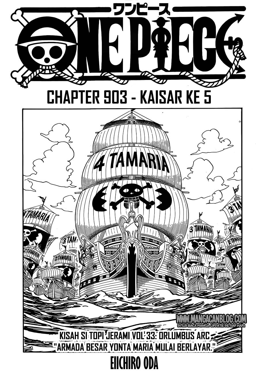 03 One Piece 903   Kaisar ke 5