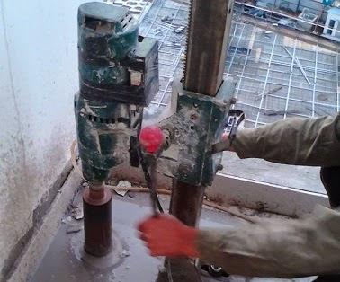 Khoan rút lõi bê tông Quảng Nam