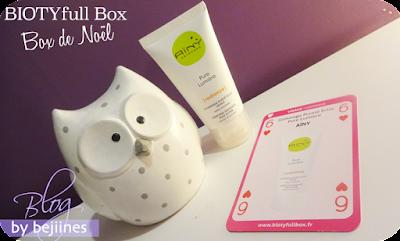 BIOTYfull Box de Noël aïny gommage bio