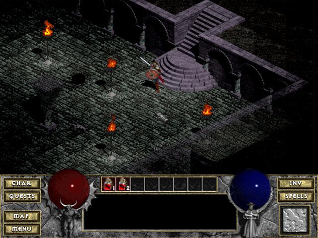 Diablo 1 Blizzard Captura de pantalla 7