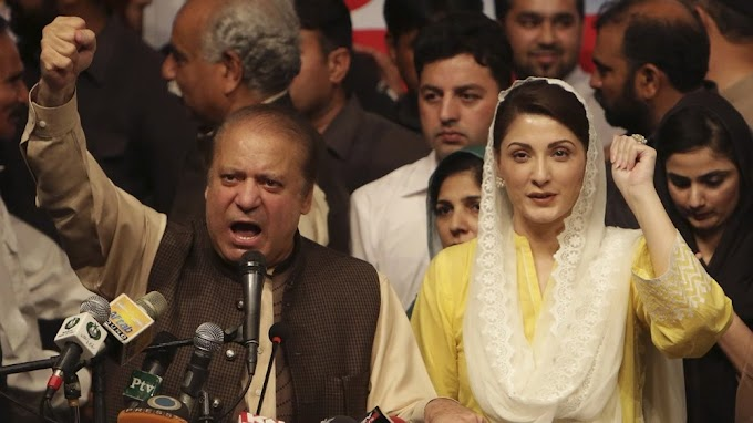 Former Pakistan PM sentenced to 10 years for corruption; daughter gets 7, fined $2.6 million