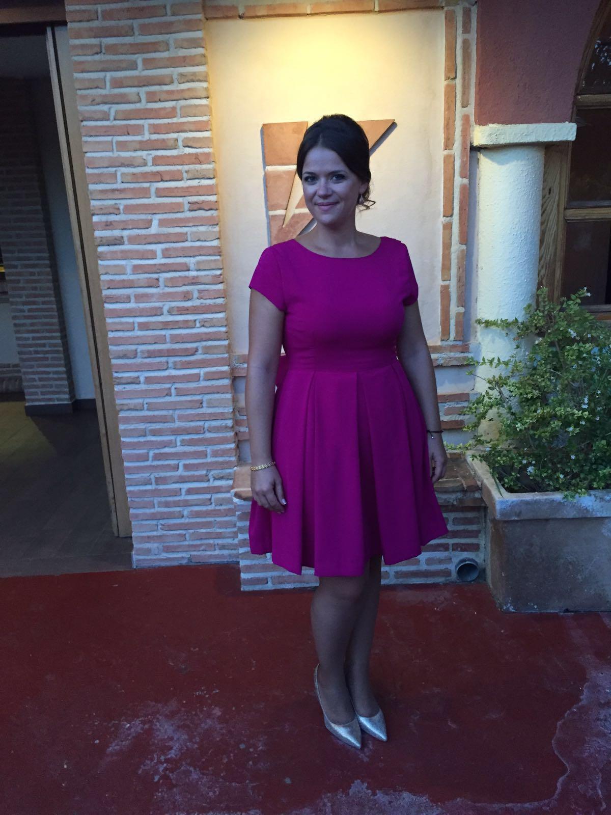 Vistoso Paloma Vestidos De Dama Gris Foto - Ideas de Estilos de ...